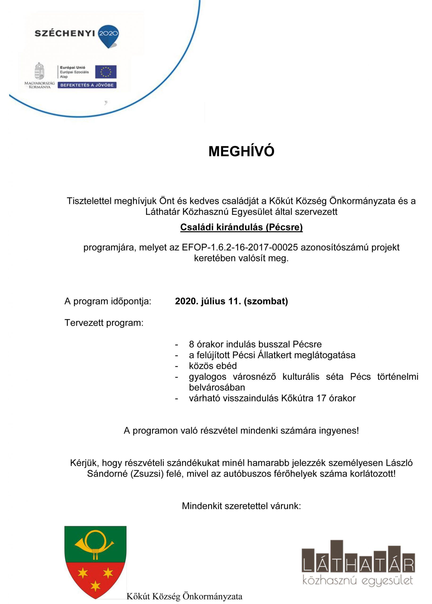 Családi kirándulás Pécsre 2020 július